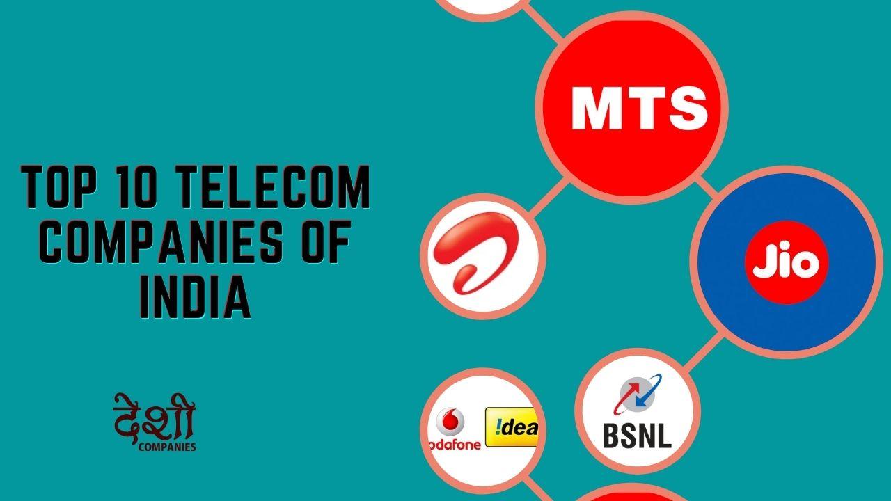 telecom companies of India