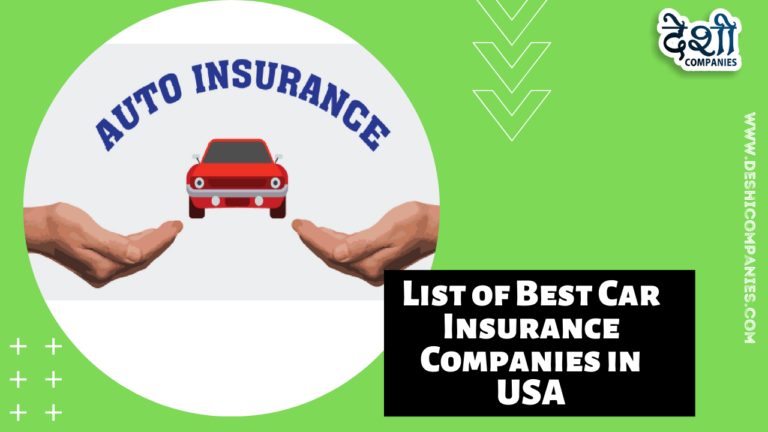 List of Best Car Insurance Companies in USA