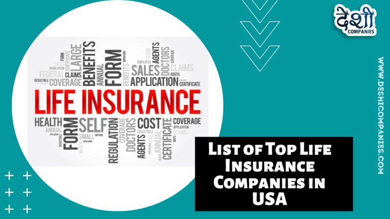List of Top Life Insurance Companies in USA