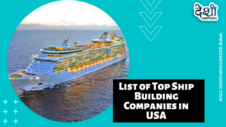 List of Top Ship Building Companies in USA
