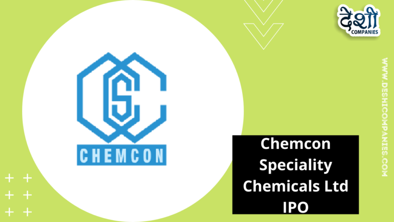 Chemcon Speciality Chemicals Limited IPO