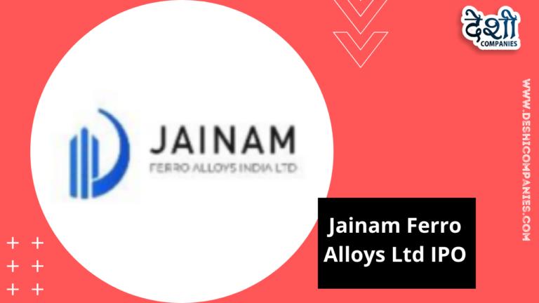 Jainam Ferro Alloys Ltd IPO