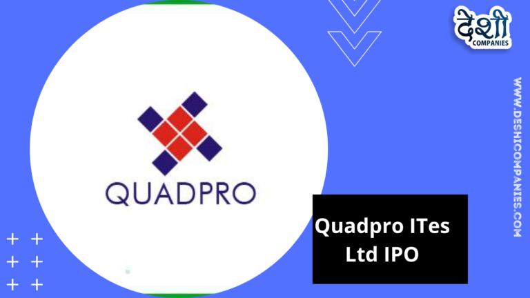 Quadpro ITes Ltd IPO