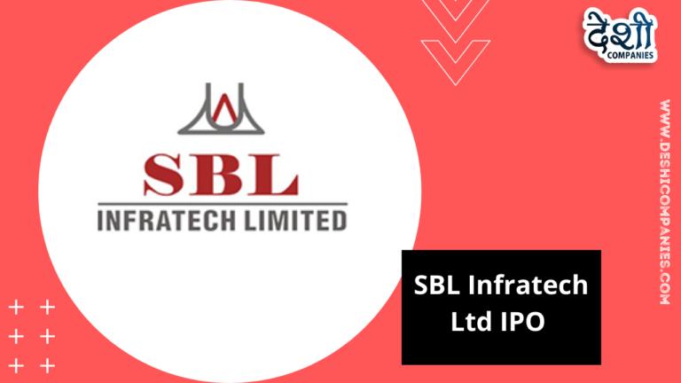 SBL Infratech Ltd IPO