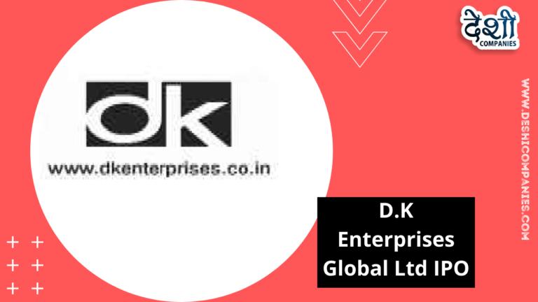 D.K Enterprises Global Ltd IPO
